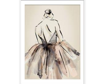 Ballet Print, Ballet Gift. Ballerina Gift Ballerina Print. Ballet Picture. Dancing Print. Gift for Girls