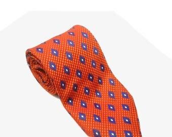 90s tie / Kneck tie / vintage  / vintage tie  / menswear / vintage clothing /  gift for him / retro tie / polyester tie