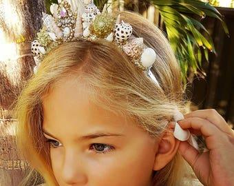 Lil Mermaid Crown Vintage Tiara