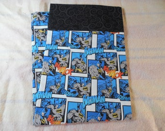 Batman-Batman Pillowcase-Kids Pillowcase-Childrens Pillowcase-Superhero Decor-Superhero Bedding-Character Pillowcase