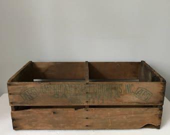 Vintage Wood American Fruit Growers Crate