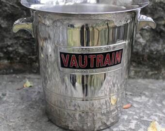 Vintage champagne bucket VAUTRAIN