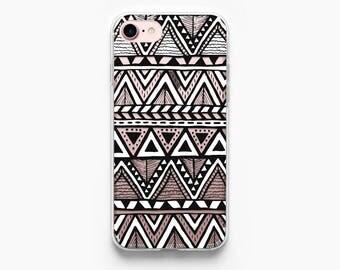 iPhone 7 Case Tribal iPhone 6 Case iPhone 7 Plus Case iPhone 6 Plus Case iPhone 6s Case iPhone 5s Case iPhone 6s Plus Case Aztec Black White