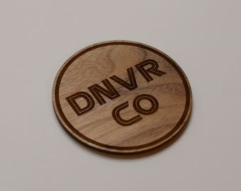 DNVR CO coasters