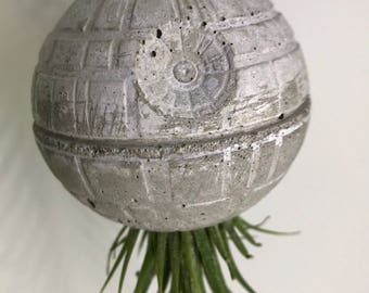 Hanging Death Star Planter