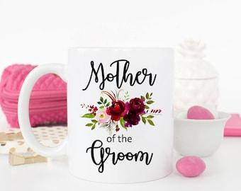 Mother of the Groom Mug, Wedding Mug, Mother of the Groom Gift, Wedding Gift, Gift for Mom, Gift for Mother-in-law, Mother of the Groom