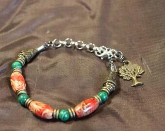 trendy boho beaded bracelet
