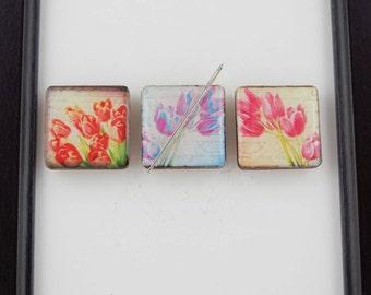 Tulip Needleminder / Flower Needle Minder