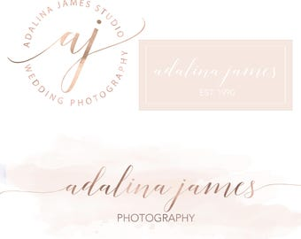Photography logos and watermarks, photography logo, photography watermark, photography branding package, photography branding, premade logo