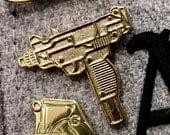 24k Uzi - Enamel Pin - Limited Edition