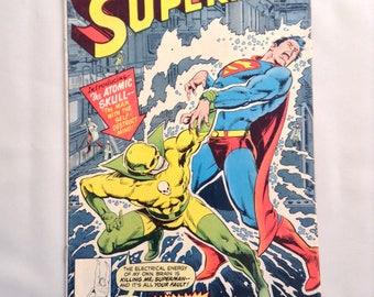 Vintage Comic Book Superman