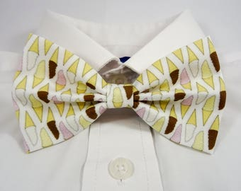 Neapolitan Ice Cream Bow Tie