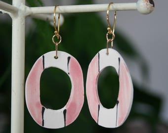 Ceramic Earrings, more styles available...