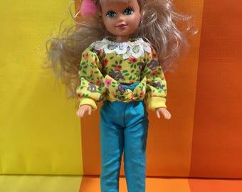 Vintage Katie Doll Teenage Doll KidKore 1992 Made In China Girls Toy