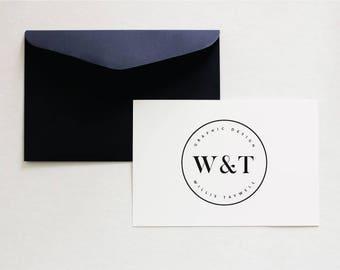 Pre Made Logo - Minimalist Branding - Chic Logo - Simple Logo Design - Rustic Logo - Business Logo