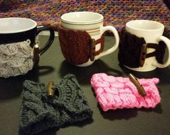 Knit Coffee Mug Warmer