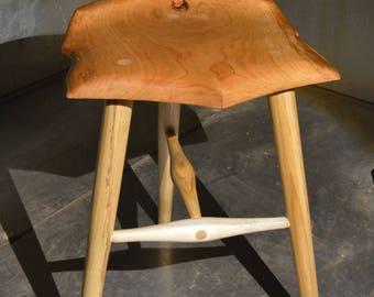 Cherry Guitar stool