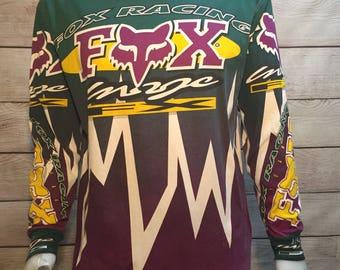 Rare Vintage Fox Racing Jersey