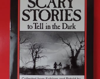 More Scary Stories to Tell in the Dark Scholastic Vintage Paperback Alvin Schwartz