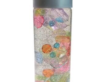 Sensory Bottle  / Calming Jar / Autism / ADHD / Sensory Processing Disorder / Drops / Soothing / Preschool / Toddler /Classroom Tool