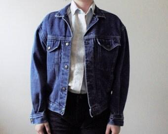 Vintage 80s 90s Calvin Klein Denim Jacket - Small