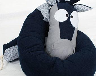 Round bed giraffe - handmade