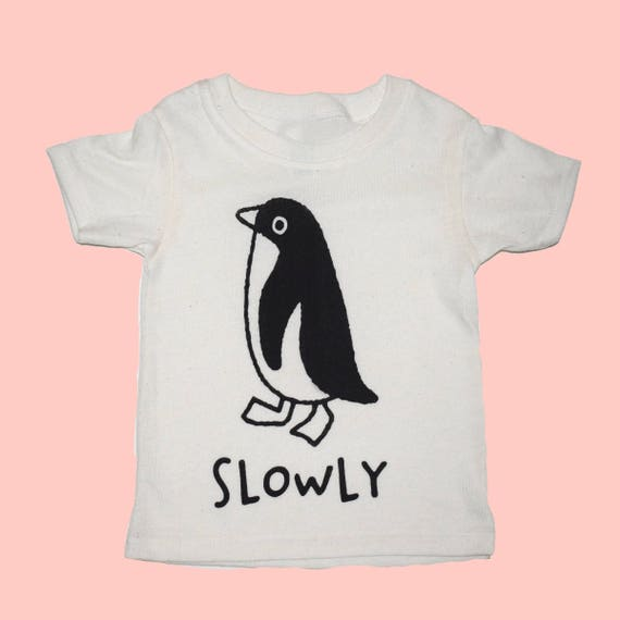 PENGUIN - Toddler Tee - White