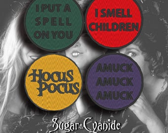 Hocus Pocus patches
