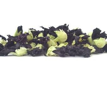 Black Mallow Flowers - Premium Quality, Crafts, Soap Making, Natural Dye, Bath bomb, Home Decor, Potpourri, Dried Flowers, 1/2oz, 1oz, 2oz