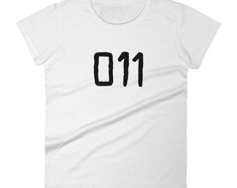 011 - Women's T-Shirt -  Eleven, Numbers, Fan Art, Hawkins