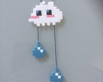 Cloud necklace - Rain