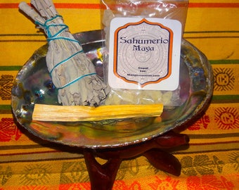 Sacred Smudge Kit for protection, cleansing and purifying