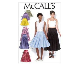 McCall's 7097 - Misses' Goget Skirts