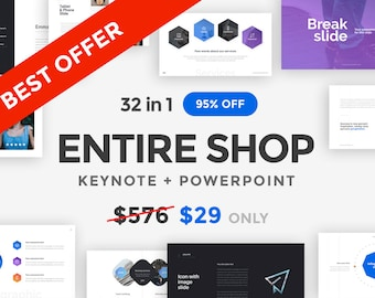 32 in 1 | PowerPoint and Keynote Templates