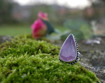 Amethyst ring, size 53 or US 6.25
