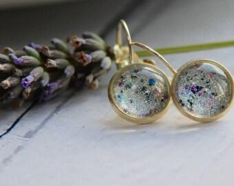 Unicorn Earrings - Handmade Earrings - Sparkle Earrings - Handmade Jewellery - Unicorn Gift