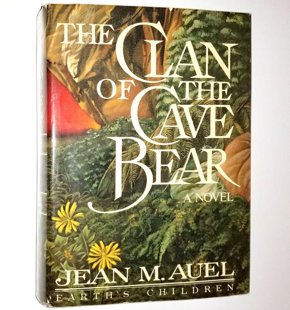The Clan of the Cave Bear by Jean M. Auel SIGNED 1st Edition Hardcover HC w/ Dust Jacket DJ 1980 - Earth's Children Book 1
