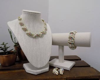 Vintage Costume Jewelry 3 Piece Set