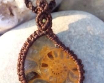 Macrame Stones Necklaces