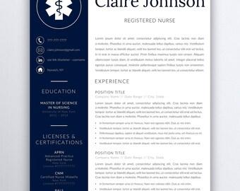resume template for registered nurse