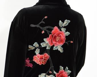 plus size clothing, top, coat, coat dress, coat-dress, plus size coat, plus size velvet, velvet coat, black coat, black velvet, black dress