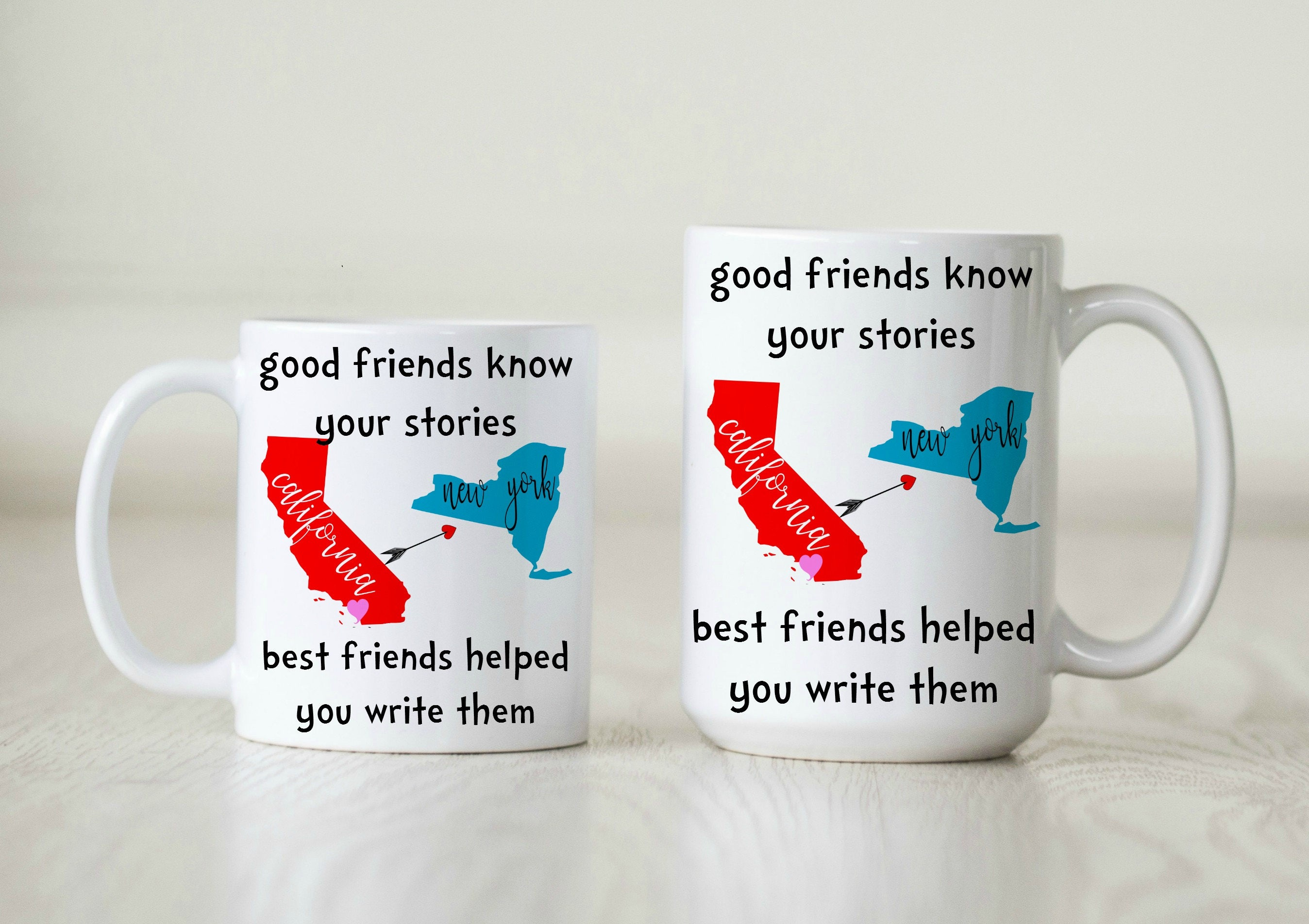 Best Friend Mug For Bestie Gift Birthday Long Distance