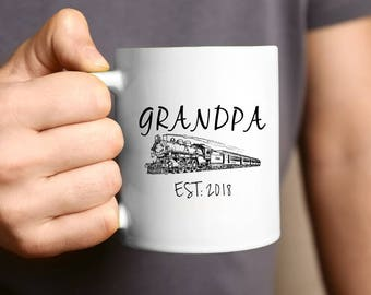 Grandpa Mug, Grandpa gift, Pregnancy Reveal, Gift For Grandpa, Grandparent Gift, Father's Day Gift, Mug For Grandpa, New Grandpa, Coffee Mug