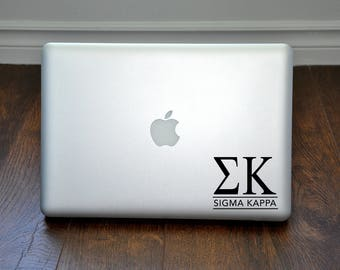 Sigma Kappa Decal