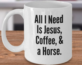 Horse Owner Mug, Gift for Horse Lover, Equestrian Gift, Horse Owner Gift, Horse Tea Cup, Horse Present, Unique Horse Gift, Horse Coffee Cup