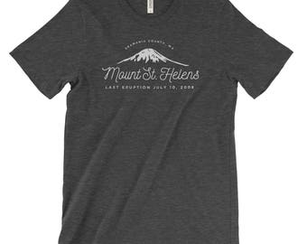 Mount St. Helens Adventure Unisex Bella Canvas Tshirt