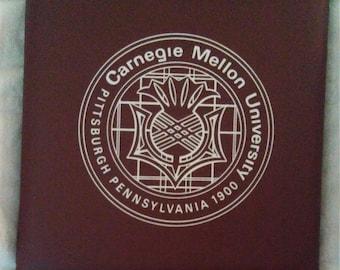 RARE Carnegie Mellon University 1900 Pittsburg Pennsylvania Stadium Seat Cushion