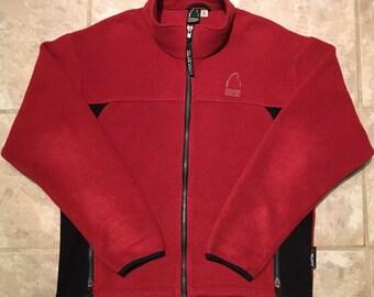Sierra Designs Vintage Full-Zip Fleece Jacket - Unisex/Men's Size Medium