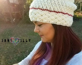 Crochet Slouch Hat | READY TO SHIP |