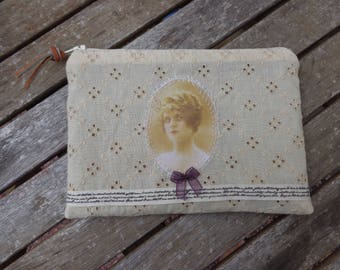 Pocket embroidery English